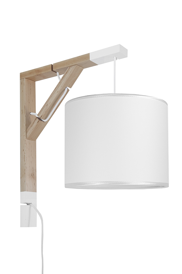 Lampa Simple youngDECO Porcelanowa biel